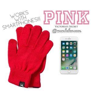 ❗️LAST💕VS PINK RED SMARTPHONE COMPATIBLE GLOVES